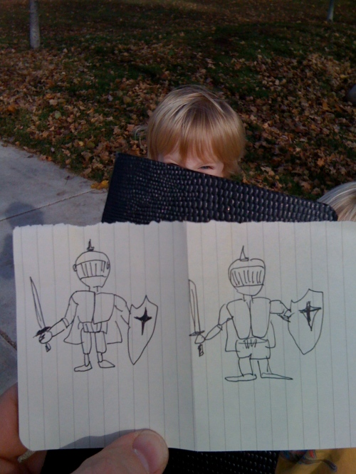 paper knights